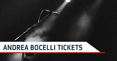 Andrea Bocelli Tickets Promo Code