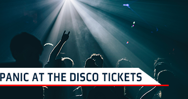 Panic At The Disco Tickets Promo Code