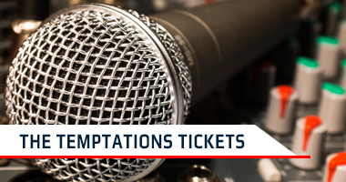 The Temptations Tickets Promo Code