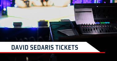 David Sedaris Tickets Promo Code