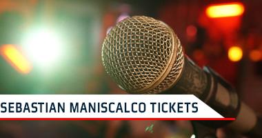 Sebastian Maniscalco Tickets Promo Code