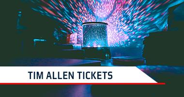 Tim Allen Tickets Promo Code