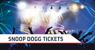 Snoop Dogg Tickets Promo Code