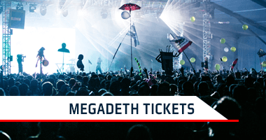 Megadeth Tickets Promo Code