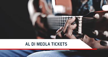 Al Di Meola Tickets Promo Code
