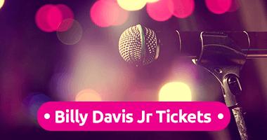 Billy Davis Jr Tickets Promo Code