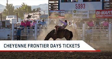 Cheyenne Frontier Days Tickets Promo Code