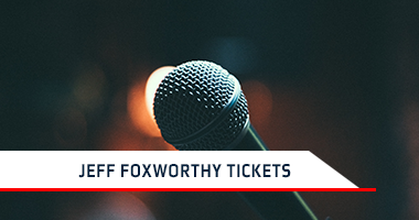 Jeff Foxworthy Tickets Promo Code