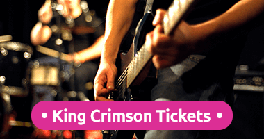 King Crimson Tickets Promo Code