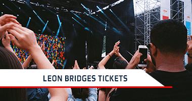 Leon Bridges Tickets Promo Code