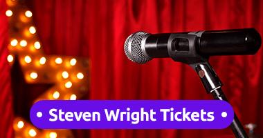 Steven Wright Tickets Promo Code