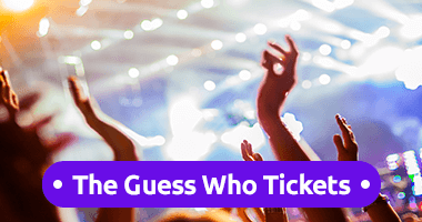 The Guess Who Tickets Promo Code