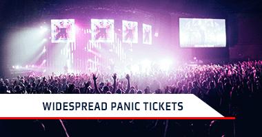Widespread Panic Tickets Promo Code