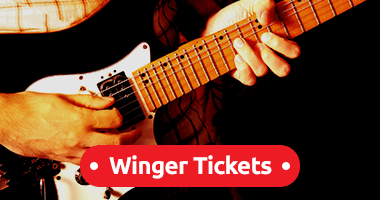 Winger Tickets Promo Code