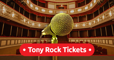 Tony Rock Tickets Promo Code